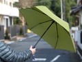 【価格変更】【梅雨】開閉が自動!の折りたたみ傘 mabu新商品「RAKURAKU」