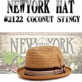 NEWYORK HAT #2122 COCONUT STINGY 14710