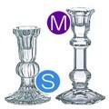 【オイルランプ】<サイズS&M>チェコ製クリスタル1本立燭台