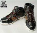 カジュアル安全靴ワイドウルブスセーフティーシューズハイカットブーツ靴・シューズ・ブーツ・ワークブーツ
