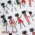 """【2色展開】《MEME》 ニューキャラクター""""MEME""""のかわいいA4クリアファイル♪"""