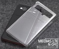 <オリジナル商品製作用> MEDIAS LTE N-04D(メディアス)用ハードクリアケース