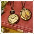 ○ ヨーロッパアンティーク風 時計ネックレス C ○