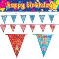 HAPPY BIRTHDAY♪ バースデー フラッグバナー * お誕生日会の飾りつけに!
