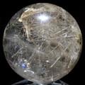 ☆高級一点物☆【天然石置き石】丸玉 ルチルクォーツ No.14【天然石 パワーストーン】