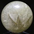 ☆高級一点物☆【天然石置き石】丸玉 ルチルクォーツ No.26【天然石 パワーストーン】