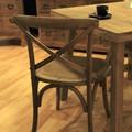【古材家具】クロスバックチェア ダイニングチェア アンティーク家具