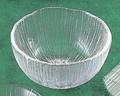 《日本製》なぎさ 丸型(洗い鉢)【ガラス 鉢】【ハンドメイド】
