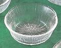 《日本製》なぎさ 丸型(小鉢 デザート)【ガラス 鉢】【ハンドメイド】