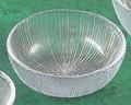 《日本製》なぎさ 丸型(大鉢)【ガラス 鉢】【ハンドメイド】