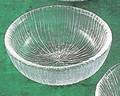 《日本製》なぎさ 丸型(小鉢)【ガラス 鉢】【ハンドメイド】