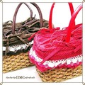 スクエアー ストロー&イ草で編みこんだカゴバッグ 2カラー
