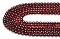 【天然石丸ビーズ】赤琥珀 (レッドアンバー) 5mm【天然石 パワーストーン】