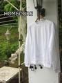 HOMECORE(ホームコア)デザインステッチロングTシャツ