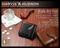 ☆HA-1003☆ハービーアンドハドソン ブライドル ビルフォールド 二つ折り財布