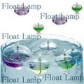 【オイルランプ】 見た目も軽やかな水に浮かべるタイプの 『フロートオイルランプ』