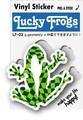 LF-03/LUCKY FROGSステッカー/g-geometry/カエル ラッキーアイテム