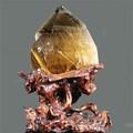 天然石 高品質タイチンルチルクォーツポイント原石置物約4750g【FOREST 天然石 パワーストーン】