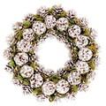 【インテリア・リース】季節のリース リース◎ Wreath パープルパインコーン