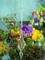 【インテリア・花器/ベース】アートな吹きガラス【Blow Glass シェル】