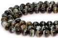 【天然石丸ビーズ】ブラックサードオニキス (ブラジル産) 12mm【天然石 パワーストーン】
