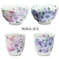 ■美濃焼 花工房飯碗&湯呑単品