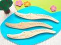 動物シリーズ★ワニのバターナイフ(メープルの木)