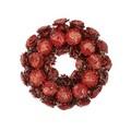 <<クリスマスリース>>★■X'mas/  Circuit Pinecone Wreath M(Red)