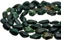 【天然石カットビーズ】ブラッドストーン タンブルカット 約12x15mm【天然石 パワーストーン】