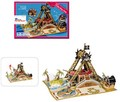 3D立体パズル 揺れる海賊船