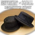 ★SQUALLカスタム NYH別注♪ NEWYORK HAT   DENIM STITCH STINGY 10269
