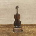 【ミニチュア】アンティークシャープナー[レトロ バイオリン]鉛筆削り