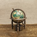 【ミニチュア】アンティークシャープナー[レトロ 地球儀]鉛筆削り