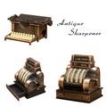 アンティークシャープナー[タイプライター/キャッシャー]鉛筆削り