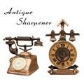 アンティークシャープナー[電話/時計]鉛筆削り