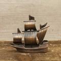 【ミニチュア】アンティークシャープナー[レトロ 帆船]鉛筆削り