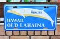★よりどり3点送料無料★アメリカン雑貨★看板★直輸入★ハワイ系★オールドラハイナ・WHALERS★