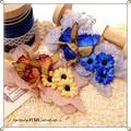 ○ お花のバレッタ 3カラー ○
