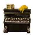 ポタリー ミニ ケース[いたずら猫とピアノ]