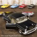 ダイキャストミニカー[1955 Ford Thunderbird(フォード サンダーバード) 1/64(S)]【ロット12台】