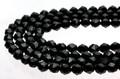 【天然石カットビーズ】スピネル(ブラック) スター宝石カット 8mm【天然石 パワーストーン】