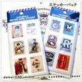 ○ スタンプ 切手風シールシート ステッカー 10枚 ○