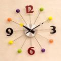 【壁掛時計】デザインウォールクロック[ボール]