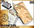 <スマホケース>【カラー&仕様追加】iPhone SE/5s/5専用ワールドデザインケースポーチ