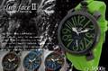 【人気商品♪】 ビッグフェイス トップリューズデザイン◇-clubface- ラバーバンド腕時計 CF-9000R