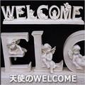 ★決算特価★◆ご予約受付中!◆天使のWELCOME/ガーデニングレジン/エンジェル/置物