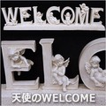 ★20%OFF★【再入荷】大人気ガーデニングレジン|天使のWELCOME/ガーデニングレジン