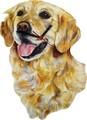 【英国雑貨】Lark Rise Designs 犬の壁掛け時計 Retriever(LRC33)