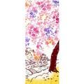 【日本製】 注染  手ぬぐい しだれ桜 【和布華】