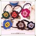 ○SALE お花とリーフのニットポニー 6カラー ○
